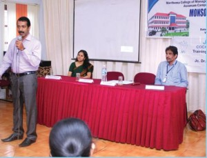 Soft-skill training by Dr. Sudarsan, CEO, Pencil and Mrs. Anitha Sudarsan, Director, Life Education, Vyttila.