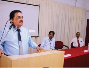 A motivating session by Dr. John M Chacko, CMD, Laurels School of Management, Indore.
